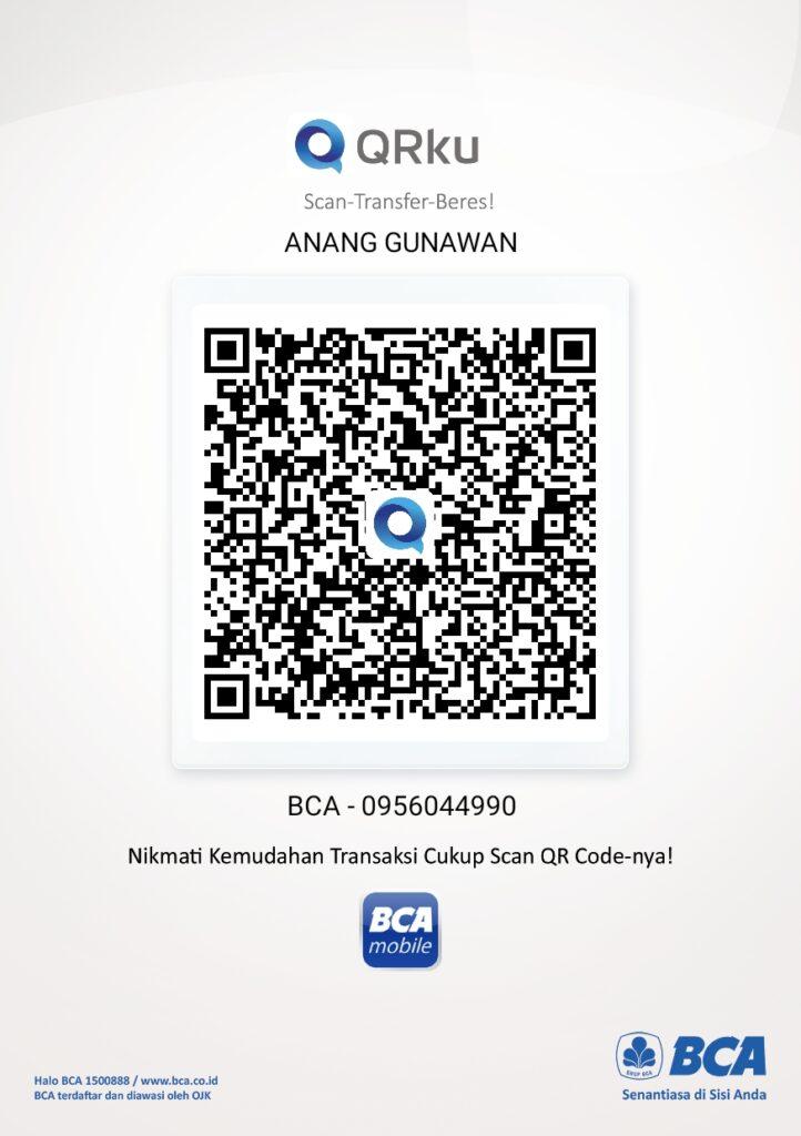 QRIS - Anang Gunawan - BCA